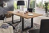 Esstisch-Wildeiche-Massivholztisch-Tisch-Baumkante-Eiche-Esszimmer-Neu-220x100-Natur-gelt