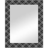 The Attic Rockville Mirror Frame (Glossy Finish, Brown)