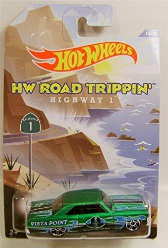 2014 Hot Wheels HW Road Trippin' Highway 1 - '66 Chevy Nova 15/32