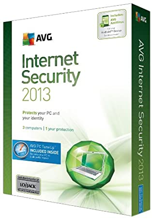 AVG Internet Security + PC Tune Up 2013 - 3 Users 1 Year