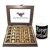 Chocholik Luxury Chocolates - Delicious Assortment Of Chocolate Treat With Birthday Mug