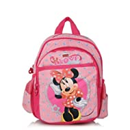 Disney Minnie Double Bow with Pink Bag (10-inch)
