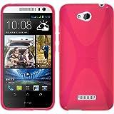 Silicone Case for HTC Desire 616 - X-Style transparent - Cover PhoneNatic