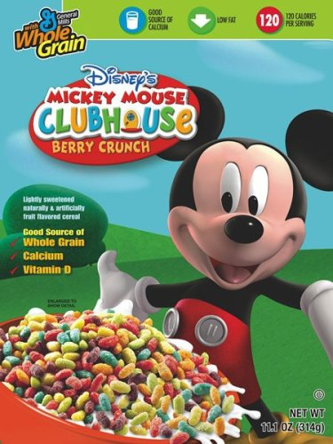 Buy Disney Mickey Mouse Cereal, 11.1-Ounce Boxes (Pack of 12)