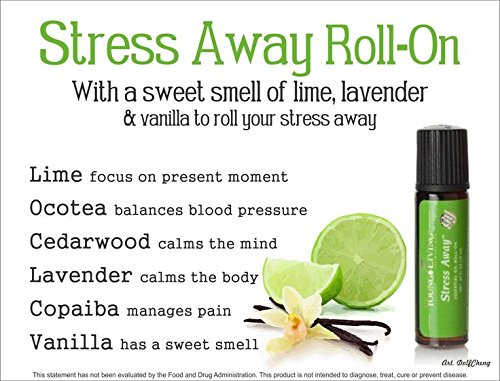Stress Away Essential Oil Roll-on - 10 ml by Young Living