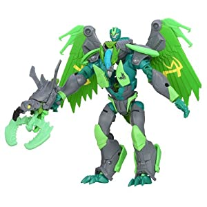 Transformers Prime Beast Hunter Voyager Figure - Grimwing