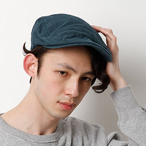 カスターノ(CASTANO) 帽子(麻ハンチング)【ネイビ-/**】