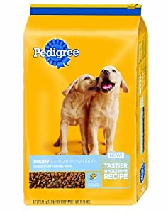 Pedigree Puppy Complete Nutrition Dry Dog Food 16.3 lb