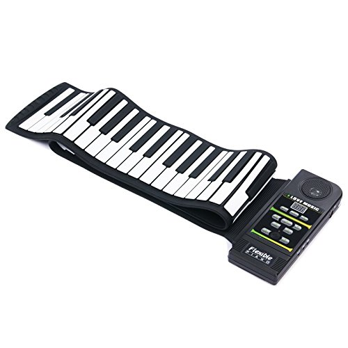 electronic piano keyboard silicon flexible