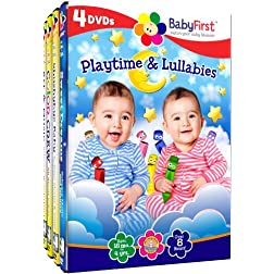 Baby First - Playtime and Lullabies - 4 DVD