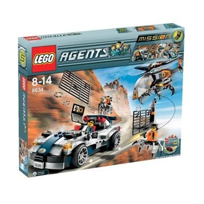 LEGO Agents 8634: Mission 5: Turbocar Chase