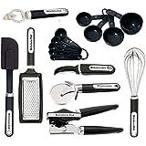 KitchenAid 16-Piece Essential Gadget Set, Black