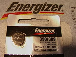 Energizer 1.5 Volt #389 Watch/calculator Batts