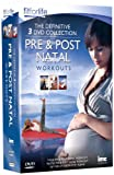 Pre & Post Natal Workout 3 DVD Box Set - Yoga, Pilates & How to Get Rid of the Mummy Tummy - Fit for Life Series