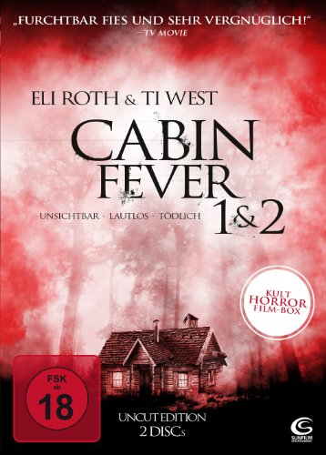 Cabin Fever 1 & 2 (UNCUT Edition) (2 DVDs)