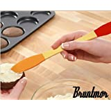 Bruntmor - Peanut Butter, Cheese and Jelly Spreader High Quality - Silicone
