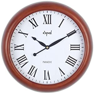 ANTIQUE LOOK WOODEN ROUND CLOCK