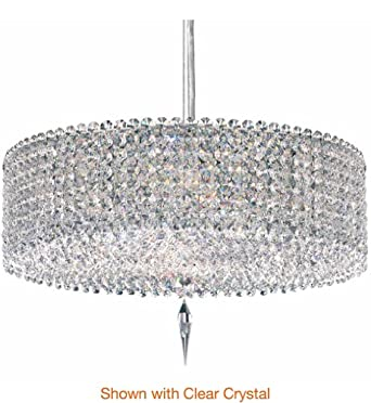 Schonbek Worldwide MC1605BOA 5 Light Matrix Cylinder Large Ceiling Pendant