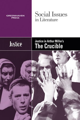 the crucible justice evil and disorder During the 1990s arthur miller's play the crucible was widely read in british, continental european and american schools, introducing miller's own particular hollywood-style morals at the cost of christian truths.