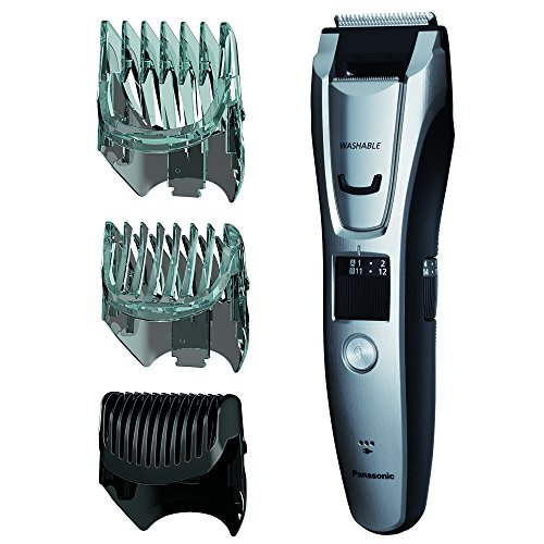 Panasonic ER-GB80-S Body and Beard Trimmer, Hair Clipper, Men's, Cordless/Corded Operation with 3 Comb Attachments and and 39 Adjustable Trim Settings, Washable (Mens Hair Cutter Cordless compare prices)