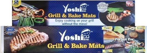 Yoshi Grill Baking Mat Set Nonstick 2 Pack