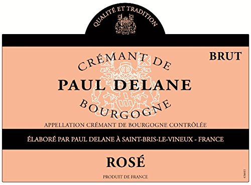 Paul Delane Rosé Burgundy Sparkling Wine 750 Ml