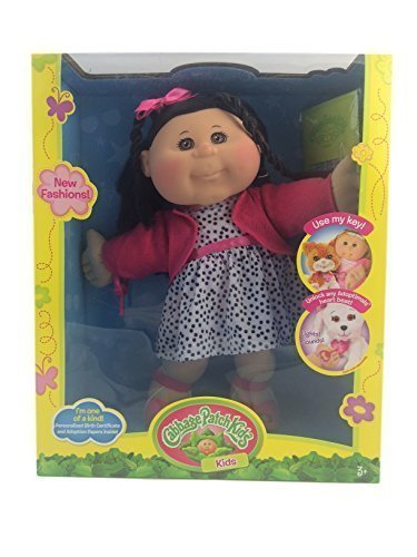 cabbage-patch-kids-trendy-girl-doll-14-caucasian-black-hair-with-adoptimal-key-by-cabbage-patch-kids
