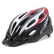 Giro Indicator Sport Helmet (Red/Black Adult Universal Size)