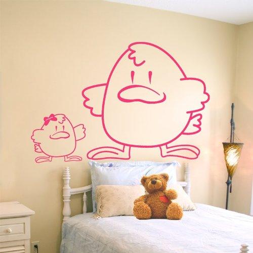 Chickens -Adesivi Murali -Wall Stickers-per la decorazione della casa e della cameretta
