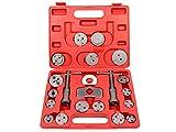 Coffret Set repousse piston d'étrier de frein Kit d'outils 21 pièces bricolage auto voiture automobile mécanique mécanicien Toolset-01...