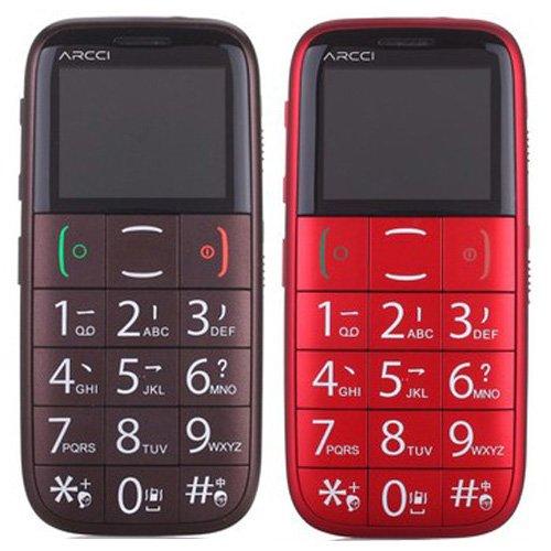 Senior Citizen Elder S Easy Mobile Phone With Large Keypad Sos Fm Flashlight Quad Band S728s Coffee Red Rodatelmmori