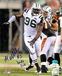 Muhammad Wilkerson autographed 8x10 Photo (New York Jets) Image #3 JSA #1 Draft Pick by Autograph Warehouse