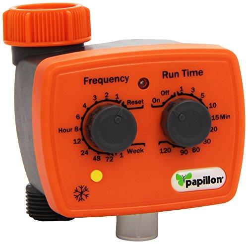 Papillon 93182 programmatore analogico grigio arancio for Programmatore di irrigazione