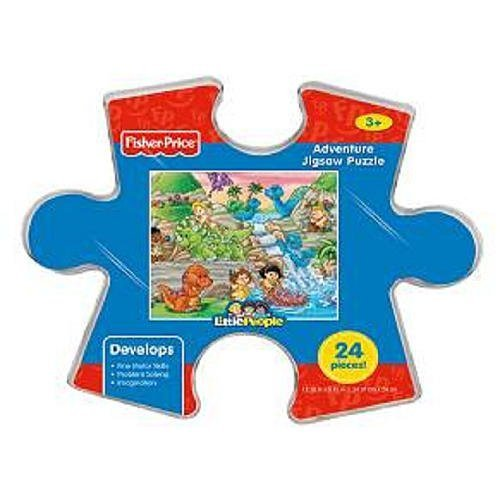 Fisher-Price Little People Adventure Jigsaw Puzzle Storage Container - School