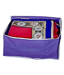 Non woven Saree cover 24 pcs combo/Wardrobe Organiser/Regular Clothes Bag