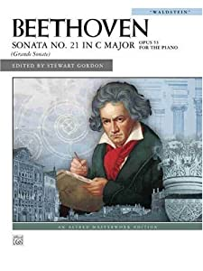 Beethoven Sonata No 21 In C Major Waldstein Op 53 Alfred Masterwork Editions by Alfred Publishing