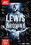 "UFC Fight Night 105 Lewis vs. Browne Autographed 27"" x 39"" 22-Signature Fight Poster - Fanatics Authentic Certified"