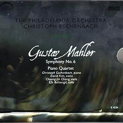 �}�[���[:�����ȑ�6�� (Mahler: Symphony No. 6; Piano Quartet)
