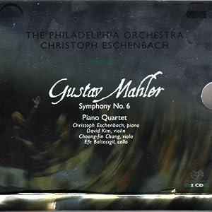 マーラー:交響曲第6番 (Mahler: Symphony No. 6; Piano Quartet)