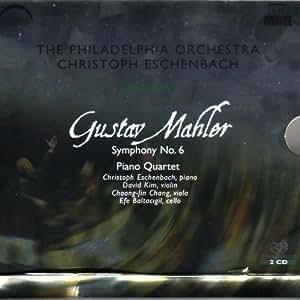 Mahler:  Symphony No. 6; Piano