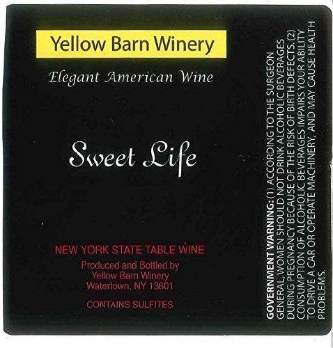 "Nv Yellow Barn Winery ""Sweet Life"" Sweet Red 750 Ml"