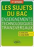 Les Sujets du Bac Enseignements Techn...