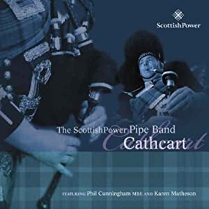 cathcart the scottish power pipe band CDTRAX 273