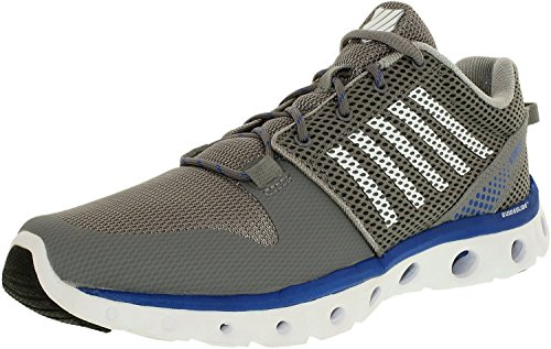 K-SWISS Men's X Lite Athletic Cmf Athletic (11 D(M) US, Stringray/Classic Blue/White)