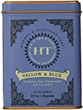Harney and Sons Yellow and Blue Tea,20 Tea Shachets 0.9oz