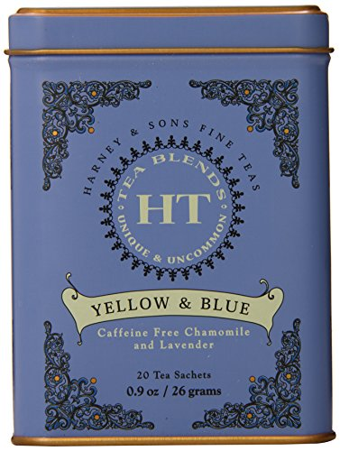 Harney and Sons Yellow and Blue Tea,20 Tea Shachets 0.9oz by Harney & Sons (Country Corn Flower compare prices)