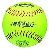 Diamond 12-Inch Super Synthetic Optic Cover Softball, Cork Core, 44 COR, 375 Compression,... by Diamond Sports
