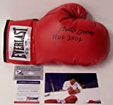 Roberto Duran Autographed Hand Signed Everlast Boxing Glove - PSA/DNA - Autographed Boxing Gloves