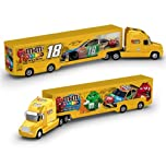 Click here to buy Kyle Busch #18 M&M's 1 64 NASCAR Hauler by Lionel Racing.