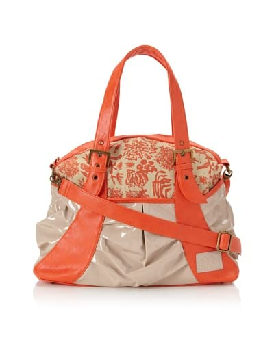 amykathryn Gladiola Carry-All Shoulder/Diaper Bag, Coral